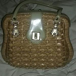Wicker purse 👜